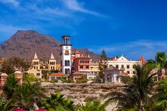 Stock Photo of Beach Las Americas in Tenerife island - Canary