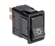 Car light control switch - stock photo