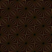 Tribal Geometric Vintage Pattern - stock illustration