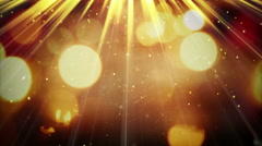 Light rays and shimmering particles seamless loop 4k (4096x2304) Stock Footage