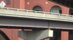 Establishing view , St. Louis, baseball stadium Stock Footage