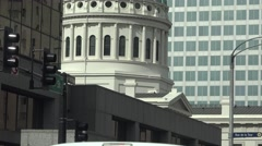Establishing view , St. Louis, Historic courthouse Stock Footage