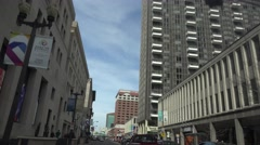 Establishing view , St. Louis, to much to drink Stock Footage