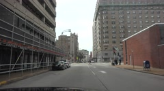 Leaving going West St. Louis Stock Footage