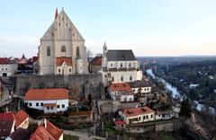 The town of Znojmo, Czech Republic, Europe Stock Photos