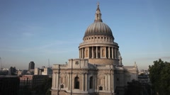 St Paul's Cathedral London 4 Stock Footage