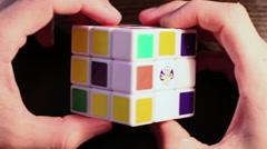Rubik's Cube 2 Stock Footage