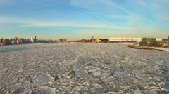 Brooklyn Winter Aerials Stock Footage