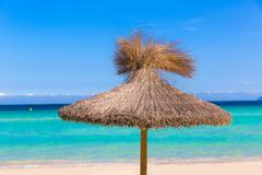 Stock Photo of Majorca Platja de Muro beach Alcudia bay Mallorca