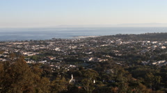 Santa Barbara California – Landscape 5 Stock Footage