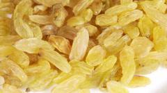 Light raisins Stock Footage