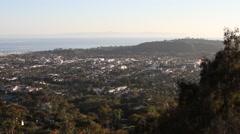 Santa Barbara California – Landscape 6 Stock Footage