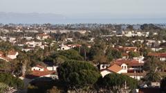 Santa Barbara California – Landscape 4 Stock Footage
