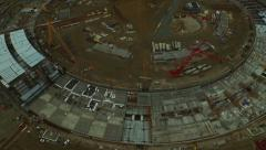 Construction Aerial - stock footage