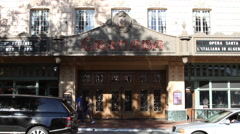 Santa Barbara California – State Street 6 - Historic Granada Theater Stock Footage