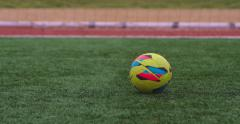Soccer Goal Kick - stock footage