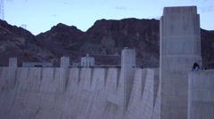 Hoover Dam- Time lapse Wide shot Stock Footage
