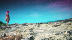 Laie Point State Wayside 4 Stock Footage