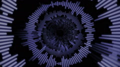 Abstract Music Lines Tunnel Background Stock Footage