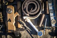 Odd Tools and Junk Stock Photos