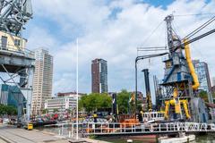 Maritime Museum Rotterdam Stock Photos