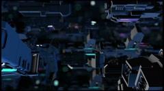 Scifi 3D Space Scene  Stock Footage