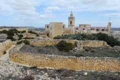 Cathedral of Assumption in Victoria, Gozo - stock photo