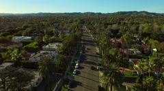 Los Angeles Aerial Beverly Hills - stock footage