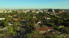 Los Angeles Aerial Beverly Hills Stock Footage