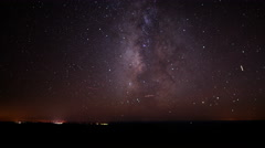 4K Grand Canyon Stars 10 Milky Way Time Lapse North Rim Stock Footage