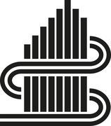 Abstract creative sign illustration - stock illustration