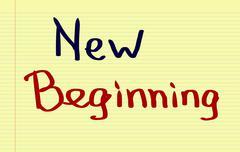 New Beginning Concept Stock Illustration