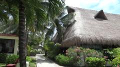 Guacamaya Carribean Bar and Club - Pan Stock Footage