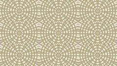 Retro style mosaic animation with three lines of illuminated circles. Stock Footage