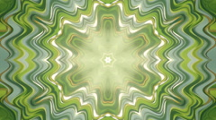 Abstract blinking mosaic animation in green colors. Stock Footage