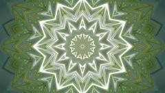 Abstract blinking mosaic animation like Christmas tree, top view. - stock footage