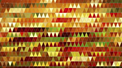 Abstract triangles pattern seamless loop background 4k (4096x2304) Stock Footage