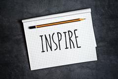 Inspire Creative Writing Concept Kuvituskuvat
