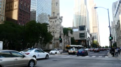 Michigan Avenue Stock Footage