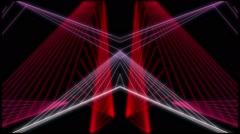 Plexus Lazer Lines Stock Footage