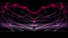 Plexus Laser Lines Stock Footage