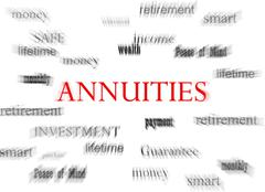 Annuities concept Piirros