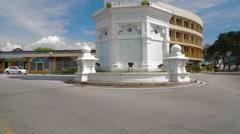 Penang's Queen Victoria Memorial Clock Tower - stock footage