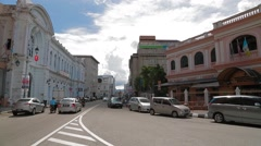 Penang Immigration Department Building in Georgetown Stock Footage