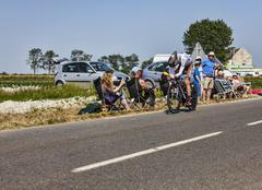 The Cyclist Romain Bardet - stock photo