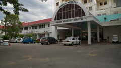 Penang Adventist Hospital, Malaysia Stock Footage