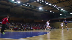 Handball Match (men) Stock Footage