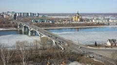 Nizhny Novgorod. Urban Landscape Stock Footage