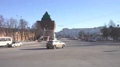 Nizhniy Novgorod. Urban landscape Stock Footage