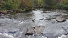 Toccoa river Stock Footage